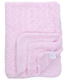 Abracadabra Reversible Luxury Blanket - Pink