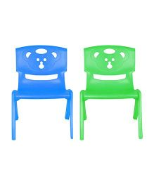 Sunbaby Magic Bear Chair Set Of 2 - Blue & Green