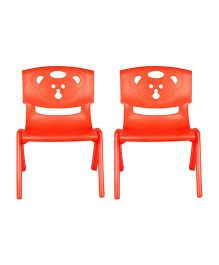 Sunbaby Magic Bear Chair Set Of 2 - Orange
