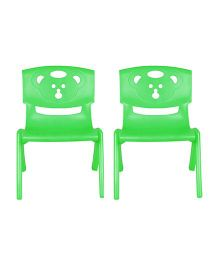Sunbaby Magic Bear Chair Set Of 2 - Green