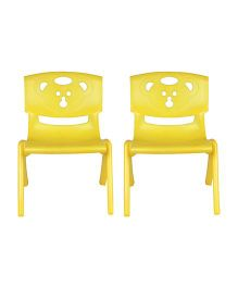 Sunbaby Magic Bear Chair Set Of 2 - Yellow
