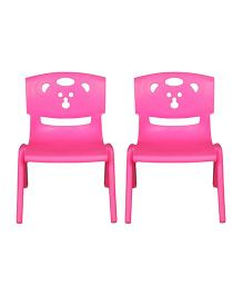 Sunbaby Magic Bear Chair Set Of 2 - Pink
