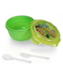 Jewel Safe Lock Lunch Box Set - Green