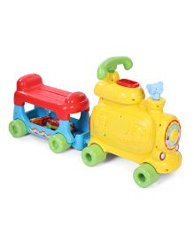 Vtech Push & Ride Alphabet Train - Yellow & Red