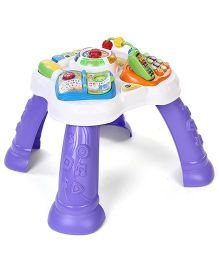 Vtech Play And Learn Activity Table - Purple