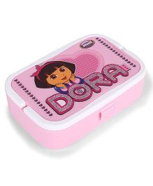 Jewel Lunch Box Set Dora Print - Pink