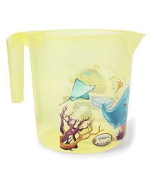 Jewel Corel Printed Rinsing Mug - Yellow