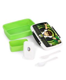 Jewel Ben 10 Print Lunch Box - Green