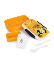 Jewel Sponge Bob Print Lunch Box - Orange