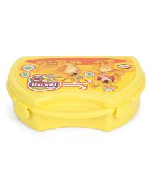 Jewel Tiffiny Lunch Box With Buster Print - Yellow