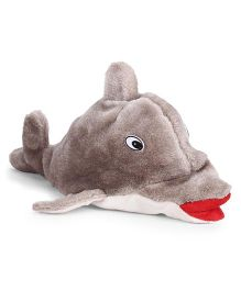IR Dolphin Soft Toy Light Brown