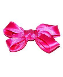 Bling & Bows Cara Bow Hair Clip - Magenta