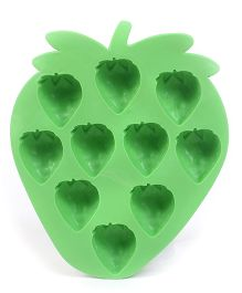 Strawberry Shaped Ice Cube Tray - Green