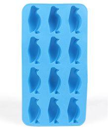 Penguin Shaped Ice Cube Tray - Blue