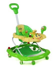 Luv Lap Sunshine Musical Baby Walker - Green