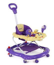 Luv Lap Sunshine Musical Baby Walker - Purple