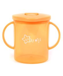 Twin Handle Sipper Cup With Spout Orange - 270 ml