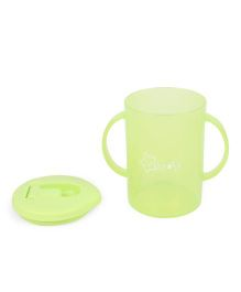 Twin Handle Sipper Cup With Spout Green - 270 ml