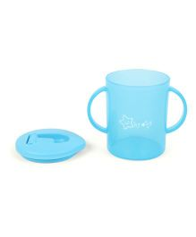 Twin Handle Sipper Cup With Spout Blue - 270 ml
