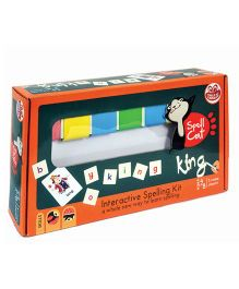 Chalk And Chuckles Spell Cat Game - Multicolor