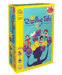 Chalk And Chuckles Rolling Tales Game - Multicolor