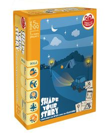 Chalk And Chuckles Shape Your Story Game - Multicolor