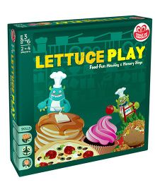 Chalk And Chuckles Lettuce Play Bingo Game - Multicolor