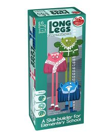 Chalk And Chuckles Long Legs Math Game - Multicolor