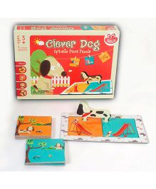 Chalk and Chuckles  Clever Dog - Red