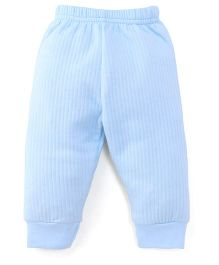 Little Darlings & Thermal Bootie Leggings - Blue