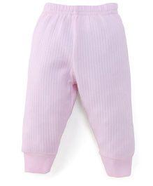 Little Darlings & Thermal Bootie Leggings - Pink