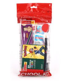 Camlin Students School Kit Pack of 6 - Multicolor
