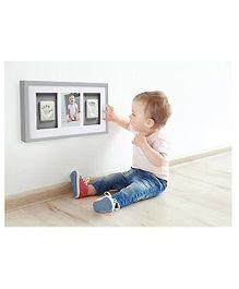 Pearhead Baby Prints Wall Frame Triple - White