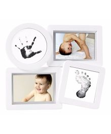 Pearhead Baby Prints Collage Frame - White