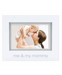 Pearhead Me and My Mommy Photo Frame - White