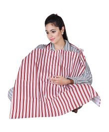 Lulamom Feeding & Nursing Cover - Red Print