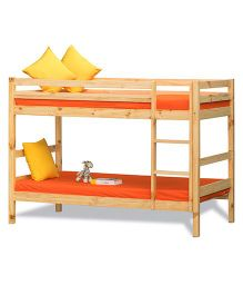 Alex Daisy Oslo Wooden Bunk Bed - Cream