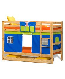 Alex Daisy Oslo Premium Bunk Bed - Blue And Green