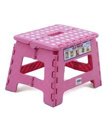 Folding Baby Stool - Pink