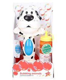 Hamleys Bubbling Animal Stand Up - White