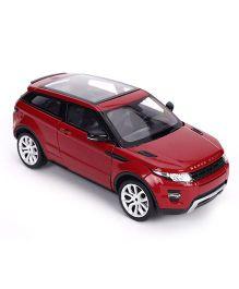 Welly Die Cast land Range Rover Evoque Toy Car - Red