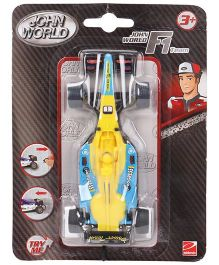 Hamleys Pullstring Racer F1 Team - Yellow And Blue