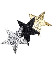 D'chica Blingy Stars Clip For Girls - Multicolor