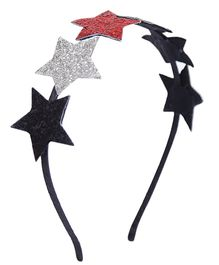 D'chica A String Of Stars For A Star Hair Band For Girls - Multicolor