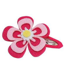 D'chica Pretty Chic Big Flower Clip - Pink