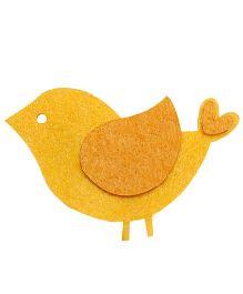 D'chica Bird Hair Clip - Yellow