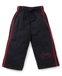 Cucu Fun Three Fourth Track Pant - Dark Grey