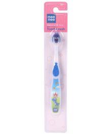 Mee Mee Toothbrush Dino Print - Blue