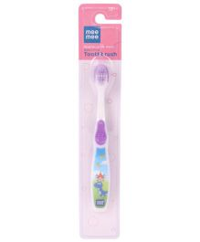 Mee Mee Toothbrush Dino Print - Purple