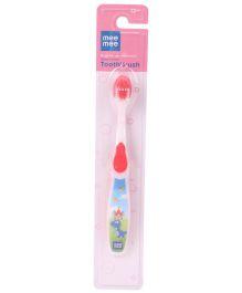 Mee Mee Toothbrush Dino Print - Pink